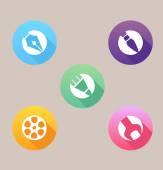 Creative tools icons — Stockvektor