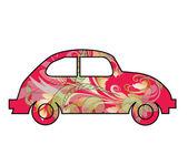 Children's toy car — Stock Vector