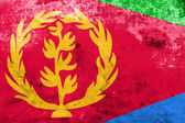 Eritrea Flag with a vintage and old look — Stock Photo