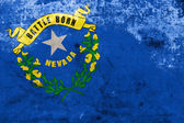 Nevada State Flag with a vintage and old look — Stock Photo