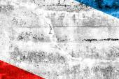 Autonomous Republic of Crimea Flag painted on grunge wall — Stock Photo