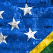 Solomon Islands Flag painted on grunge wall — Stock Photo #52964257