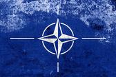 Grunge Nato Flag — Photo