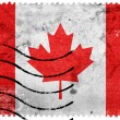 Canada Flag - old postage stamp — Stock Photo #60762023