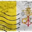 Vatican City Flag - old postage stamp — Stock Photo #60766205