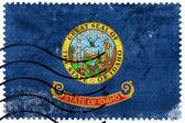 Idaho State Flag - Vecchio francobollo — Foto Stock