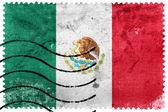 Bandera de México - antiguo sello — Foto de Stock
