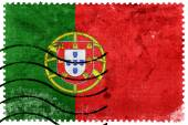 Portugal Flag - old postage stamp — Stock Photo