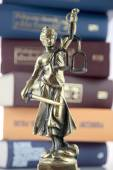 Symbol of law and justice. — Stock Photo