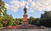 Lenin Statue, Yalta, Crimea — Stock Photo
