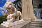 Medici Lion, Vorontsov Palace, Ukraine — Stock Photo