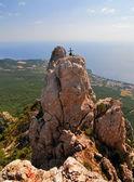 Ai-Petri Mountains, Crimea — Stock Photo