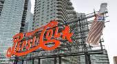 Pepsi cola sinal, long island city — Fotografia Stock