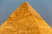 Egyptian Pyramids of the Giza Plateau, Cairo — Stock Photo