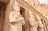 Mortuary Temple of Queen Hatshepsut — Stock Photo