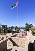 Aqaba Fort in Aqaba, South Jordan — Stock Photo