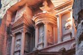 Al Khazneh - Treasury, Petra — Stock Photo