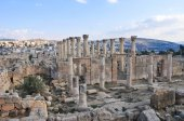 Ancient Ruins of Jerash, Jordan — Stock Photo