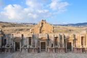 Teatro del sur - jerash, jordania — Foto de Stock