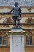 Oliver Cromwell Statue, London, UK — Stock Photo