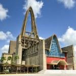 Basilica Catedral Nuestra Senora de la Altagracia Interior, Dominican Republic — Stock Photo #54766639