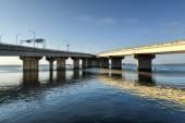 Cross Bay Veterans Memorial Bridge — Stock Photo