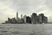 View of Downtown Manhattan, New York — Стоковое фото