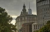 View of Downtown Manhattan, New York — Stock fotografie