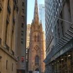 Trinity Church, New York City. USA. — Stock Photo #56109417