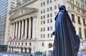 George Washington, Federal Hall, Wall St, Manhattan, NY — Stock Photo
