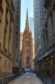 троицкая церковь, нью-йорк сити. сша. — Стоковое фото