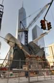 World Trade Center Construction, Manhattan, New York — Стоковое фото
