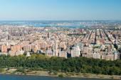 Aerial View of Manhattan, New York — Stock Photo