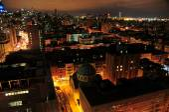 New York's East Village Skyline at Night — Стоковое фото