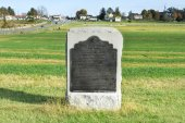 Memorial Monument, Gettysburg, Pa — Stock fotografie