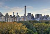 Central Park, Autumn, New York — Stock Photo