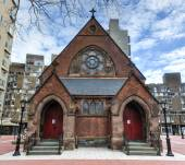 Good Shepherd Church, Roosevelt Island, New York — Foto de Stock