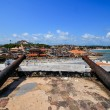 Ghana: Cannons of Elmina Castle World Heritage Site, History of — Stock Photo #58685023