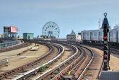 Coney Island, Subway, Brooklyn, New York — Stockfoto