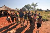 Children of Mikuni Village, Zambia — Stock Photo