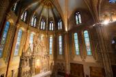 Matthias Church Interior - Budapest, Hungary — Stock Photo