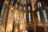Matthias Church Interior - Budapest, Hungary — Stock Photo