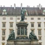 Постер, плакат: Emperor Franz I Hofburg Palace Courtyard Vienna Austria