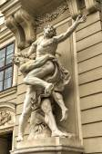 Hercules Statue - Vienna, Austria — Stock Photo