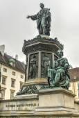 Emperor Franz I, Hofburg Palace Courtyard - Vienna, Austria — Stock Photo