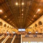 Keleti Railway Station in Budapest, Hungary — Stock Photo #61203579