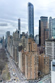 Central Park South, New York — Stock Photo