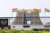 The Flagstaff House - Presidential Palace of Ghana — Stock Photo