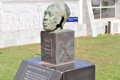 Dr. Kwame Nkrumah Bust - Accra, Ghana — Stock Photo