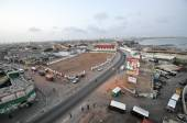 Panoramic View of Accra, Ghana — Stock Photo